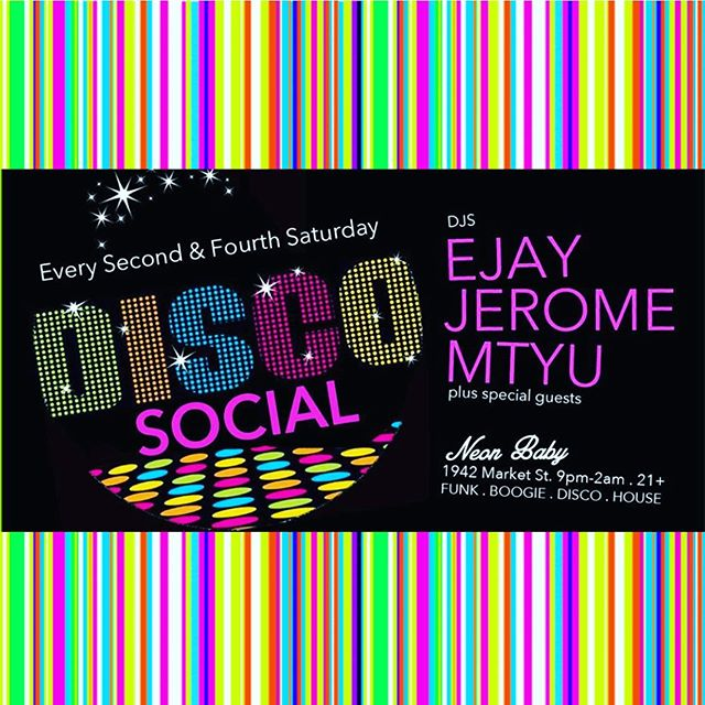 Saturday Night Disco with @discosocialdenver 🕺 9P - 2A