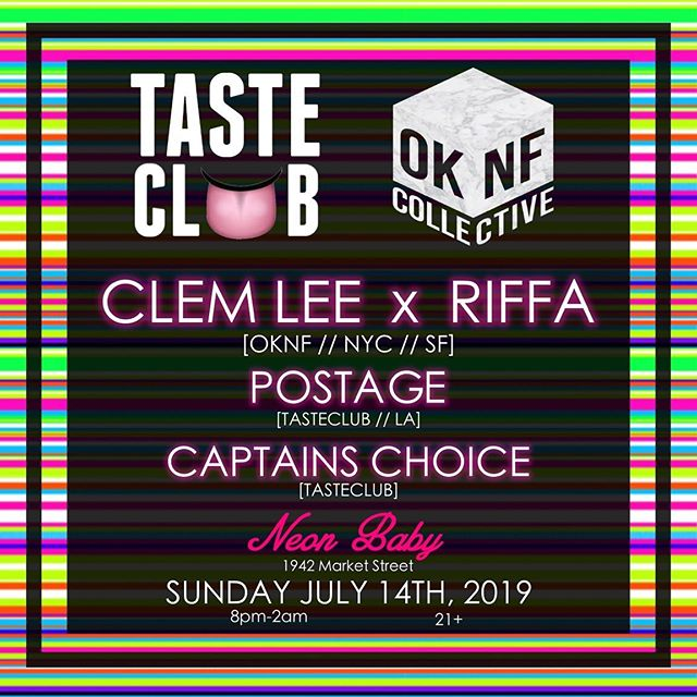 It's gonna be a heater today 🔥 @tasteclubtunes x @oknfcollective  8P-2A