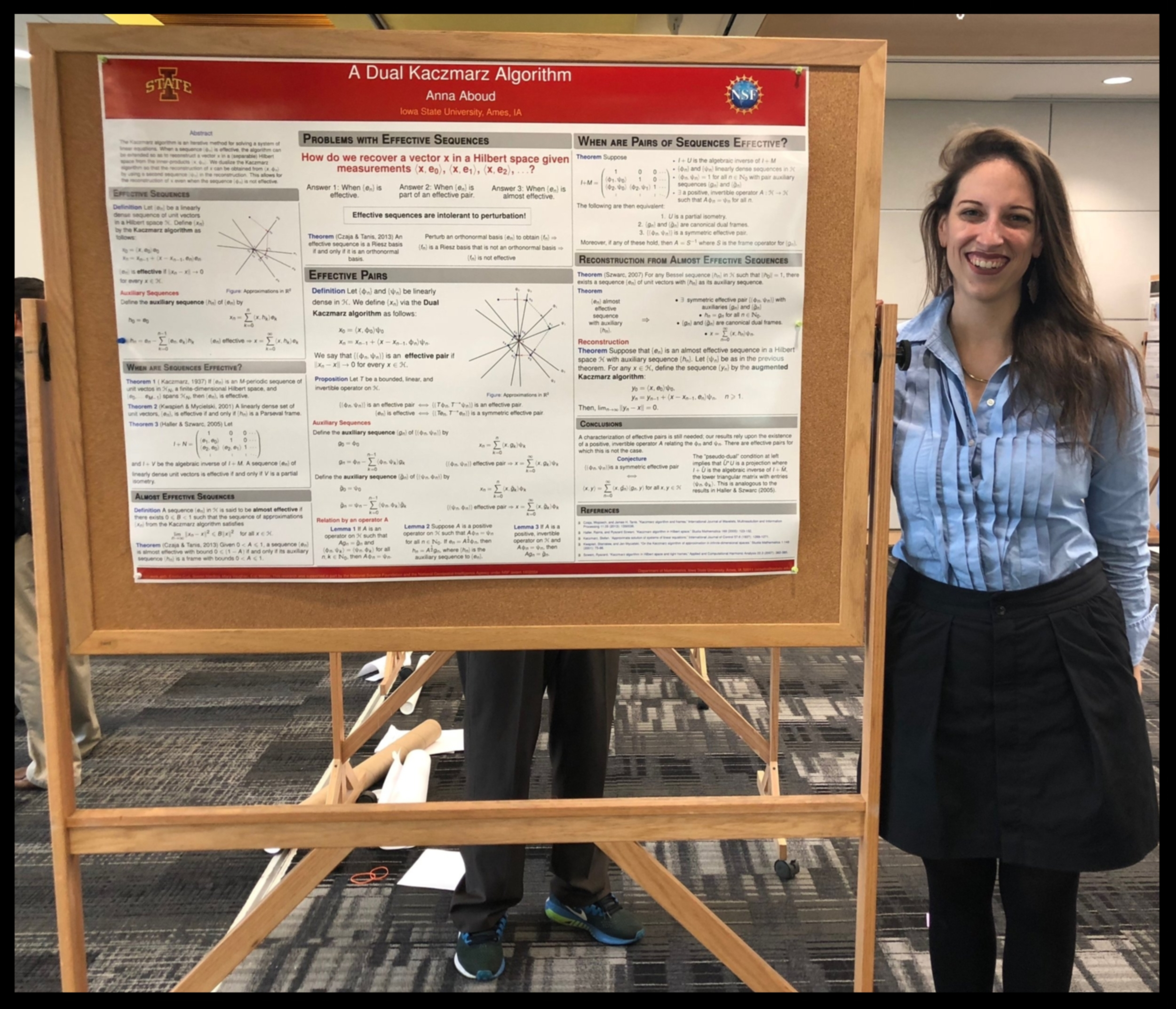 Presenting a Poster at the 2018 NSF Algorithms for Threat Detection (ATD) workshop.