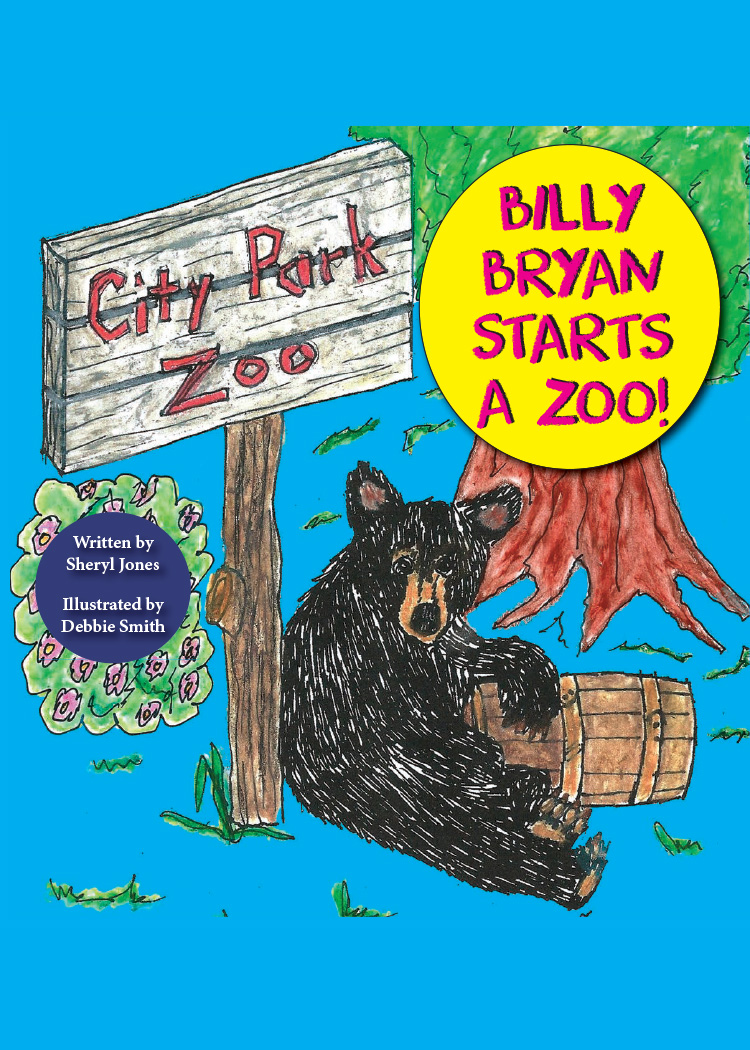 """Billy Bryan Starts a Zoo! - The heartwarming true story of """"Bear Mountain"""" (which later became Denver Zoo), the nations first naturalistic zoo enclosure."""