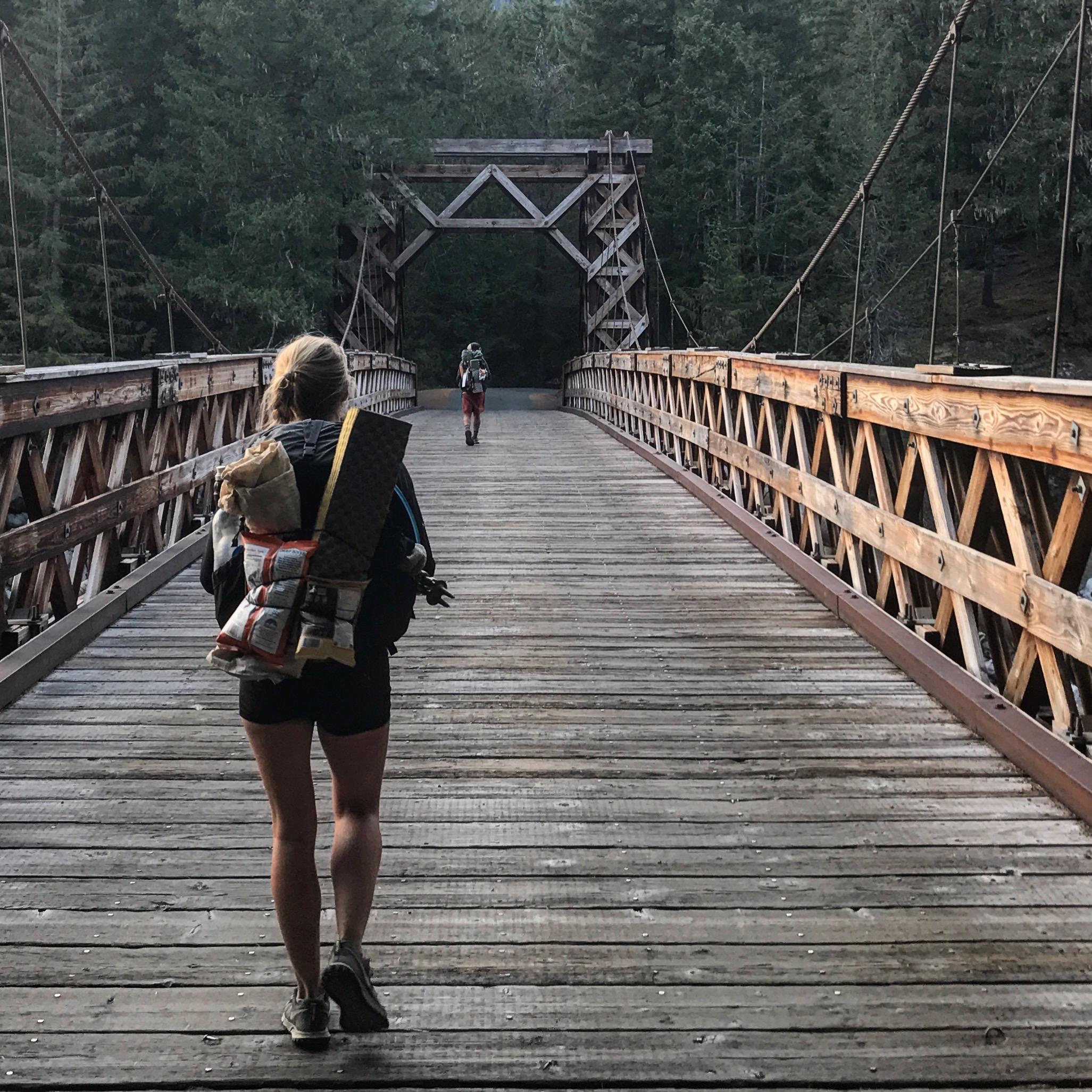 Entering Mount Rainier National Park