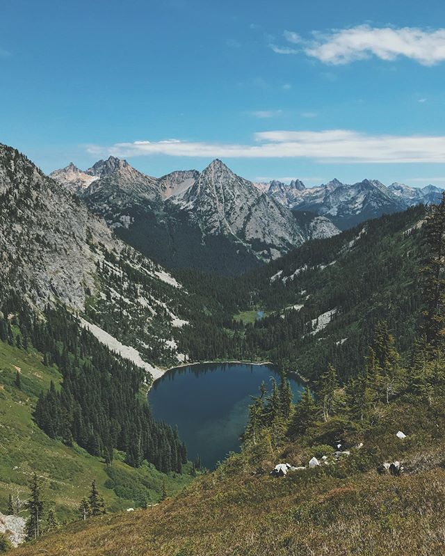Maple Pass, North Cascades.