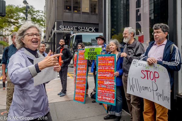 """Stop the Williams Pipeline Coalition on FERC's FEIS greenlight for the Williams fracked gas pipeline: - """"Governor Cuomo, join those fighting for a truly Green New Deal and the renewable future we deserve, and stop this pipeline for good"""""""