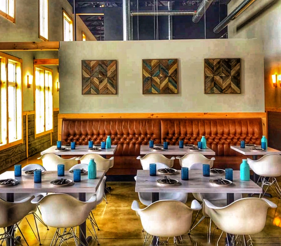 Scratch kitchen with regionally sourced ingredients for custom menu choices