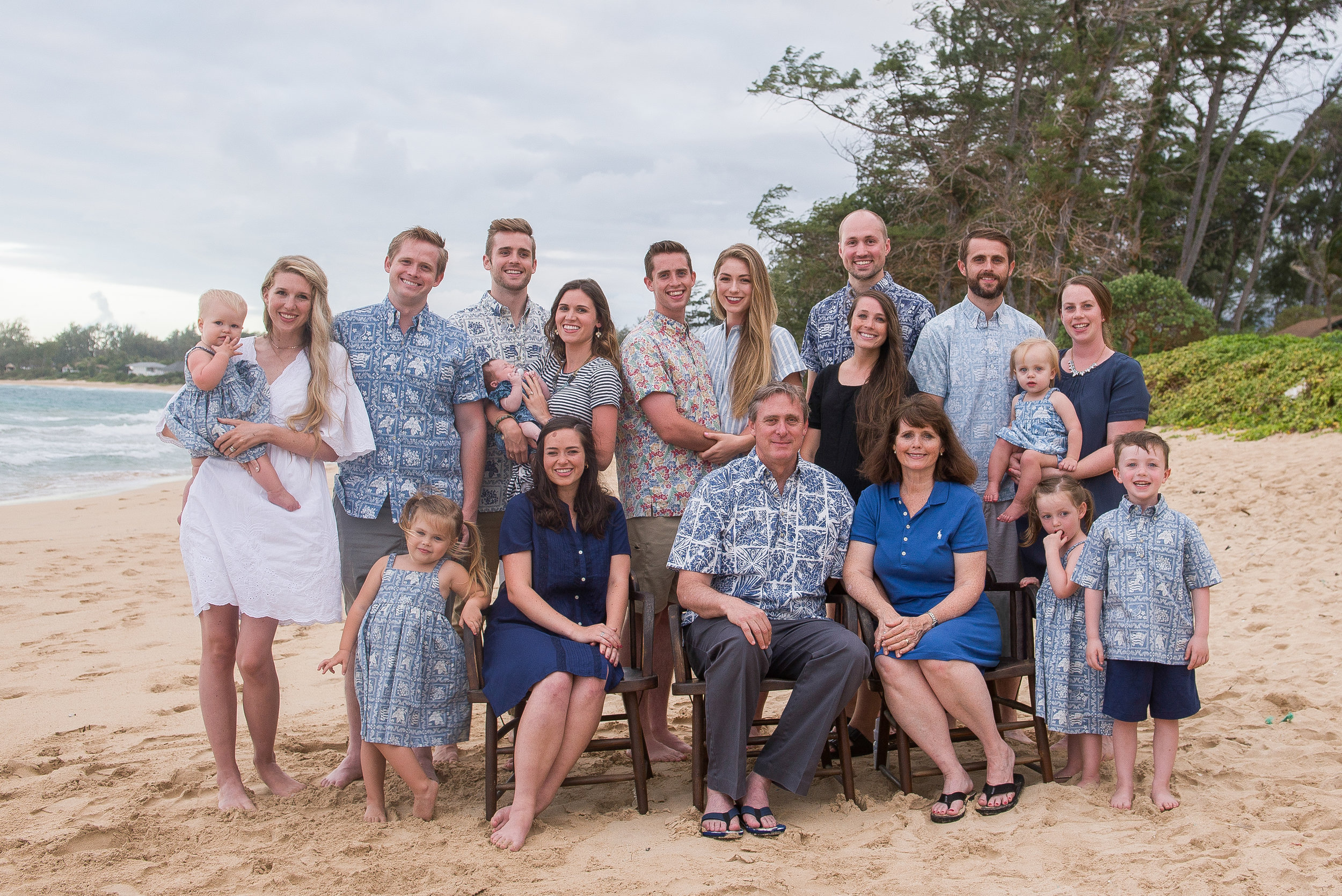 The Andersen Family - August 2018