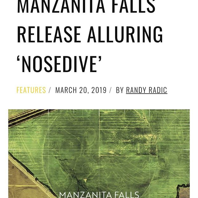 Well, good morning! Here is our first review of our new single! Give it a listen and come hear it live at HopMonk Tavern Sebastopol this Friday! (March 22nd) Thank you for the kind words Rawckus Magazine!  Also, tune into KRCB (90.9/91.1fm) at 10am when we talk about the show and the EP as a whole with Brian Griffith!  It's a good morning.  #manzanitafalls #EP #indierock #sebastopol #rawckusmagazine #EP #thedroughtcult #greenlightsilhouette #hopmonk #singlerelease #nosedive #firstlisten #radio #tunein #krcb #livemusic #publicdisplay #vestigeintheriver  http://www.rawckus.com/premiere-manzanita-falls-release-alluring-nosedive/