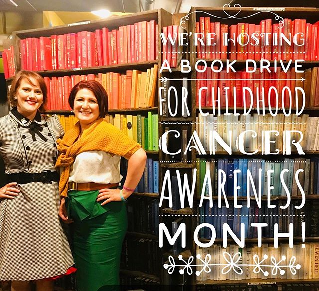 Join us in our Childhood Cancer Awareness Book Drive! You can send us a book or donate to your local hospital. Just be sure to tag us in a photo and use the hashtag #FGGBookdrive. Books must be new and can be for children and adults alike!  If you'd like to donate a book, please send it to: Lauren Kelley PO Box 2001 Simi Valley CA 93062