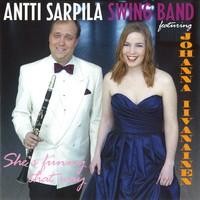 Iivanainen, Johanna / Sarpila, Antti : Swinging Christmas live at Finlandia hall