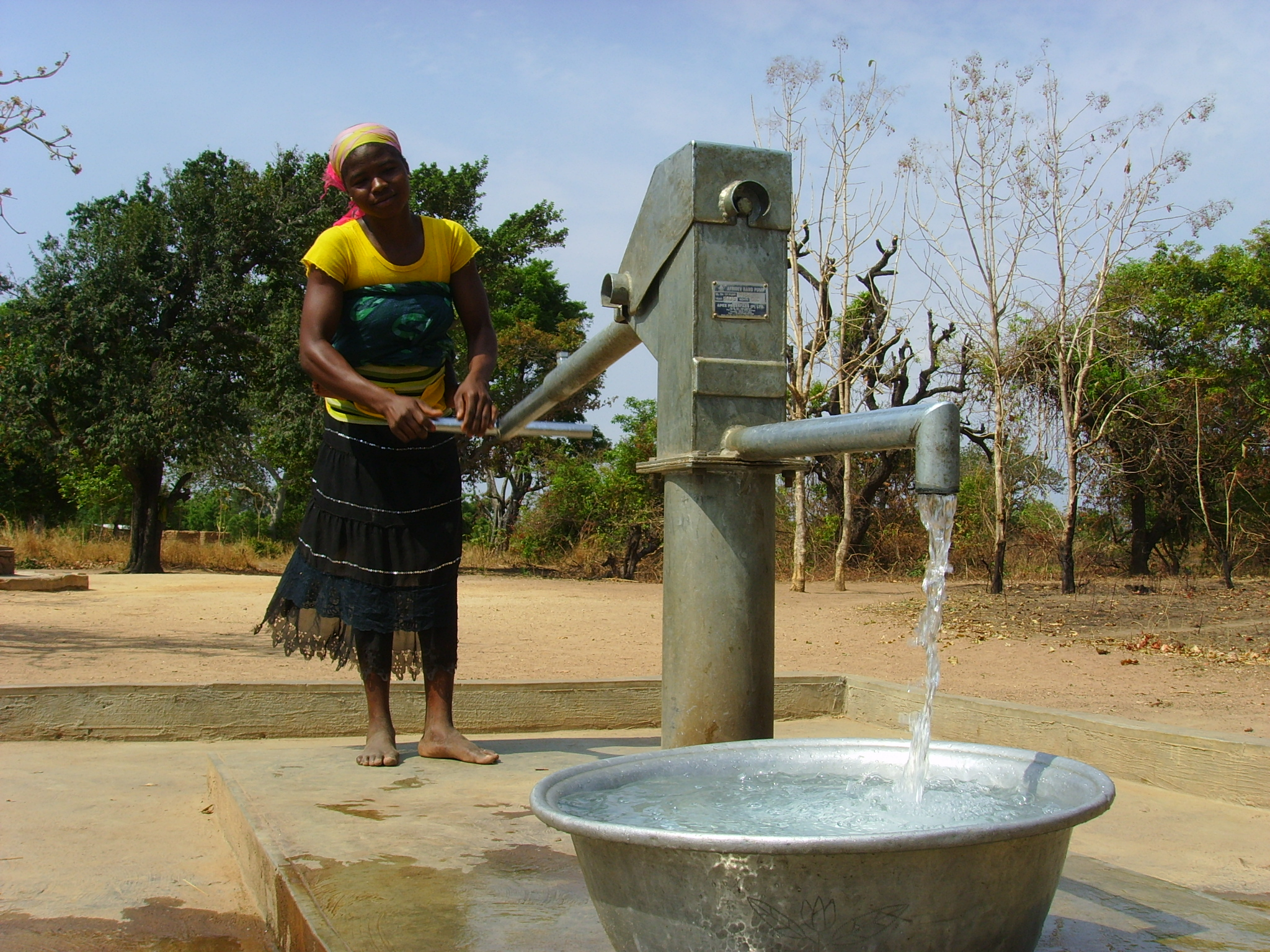 Malawi Direct Action Pump for Agriculture Malawi Village