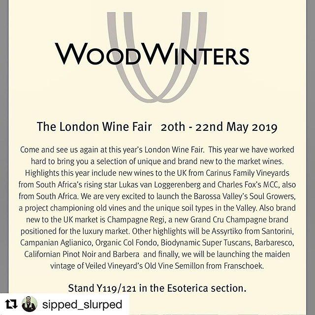 The countdown has begun! Look forward to pouring the wines of Bosman and Soul Growers.  #Repost @sipped_slurped with @get_repost ・・・ 12 days until @london_wine_fair. Come and see us on the Esoterica stand and try all our news toys from @champagne_regi @castelsanmauro @oddero @txakoliuno @artemis_karamolegos_winery @_joaquin.aa_ @avignonesi @castellodipotentino @baron_von_vogel @tenuta_di_ghizzano @cortesegiuseppecantina @charlesfoxmcc @carinusfamilyvineyards @raisedbywolves_wines @bosmanwines @soulgrowerswines @hitchingpost2 @la_lepianewines @minimuswines @elginridgewines @veiledvineyards #organicwine #biodynamicwine #londonwinefair #esoterica #lovemyjob