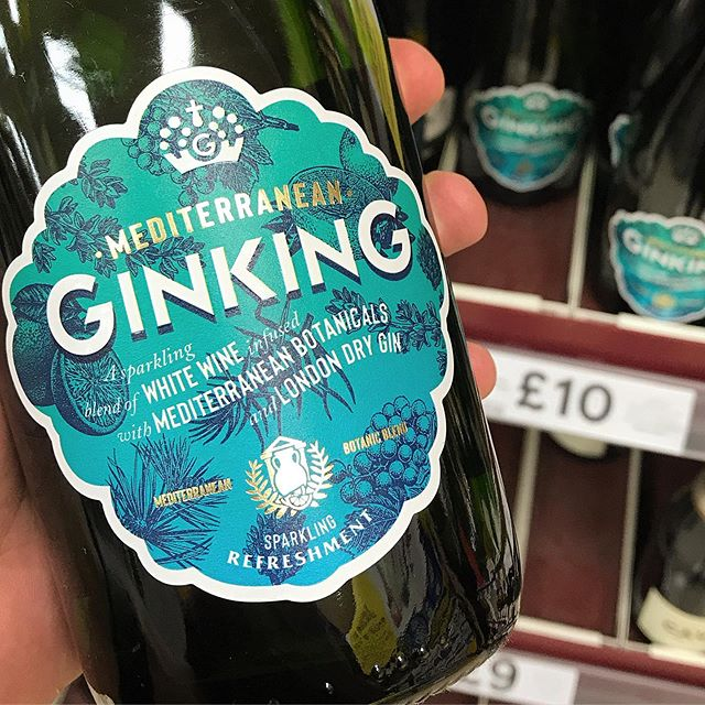 Cheers to a weekend of +30c and chuffed to see the new Mediterranean Ginking now on shelf in Tesco! ☀️ ☀️ ☀️ ☀️ ☀️