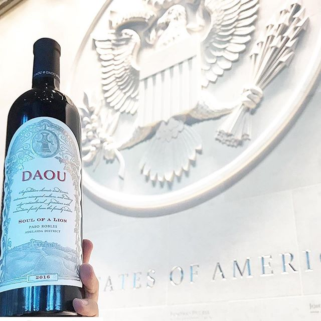 Great to present show the DAOU wines tasting as part of the Collectible California tasting in the US Embassy in London. Thanks for a brilliant tasting and dinner @californiawinesukandirl