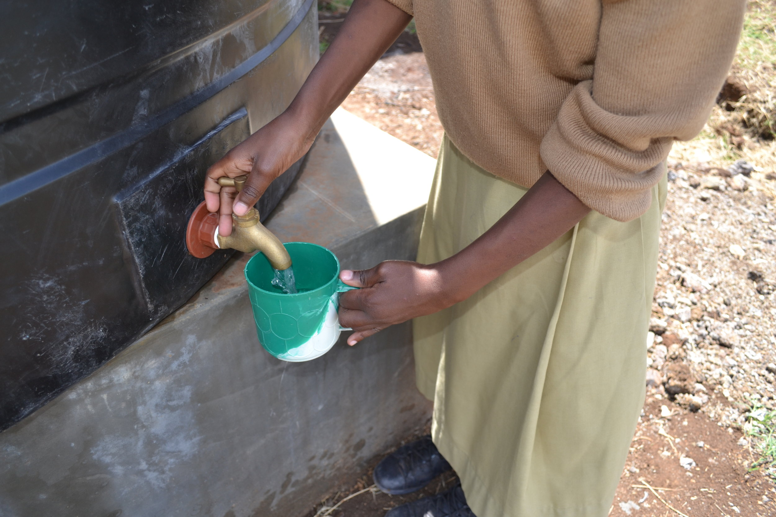 We're determined to bring more clean water to schools and communities!