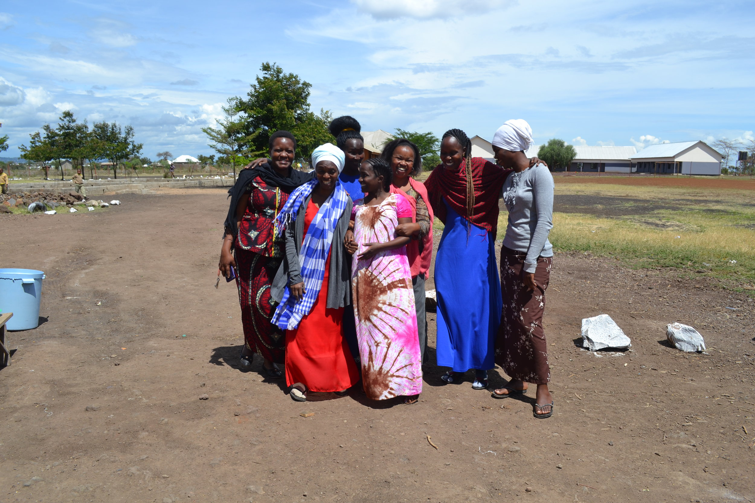 The female teachers at our schools in Tanzania
