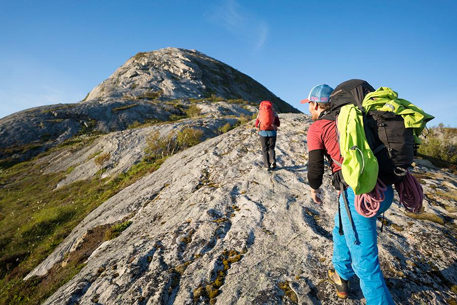 Bolgbørra - BOLGTINDEN - Ruggesteinen - Bolga tilbyr flere spektakulære fjellopplevelser i umiddelbar nærhet