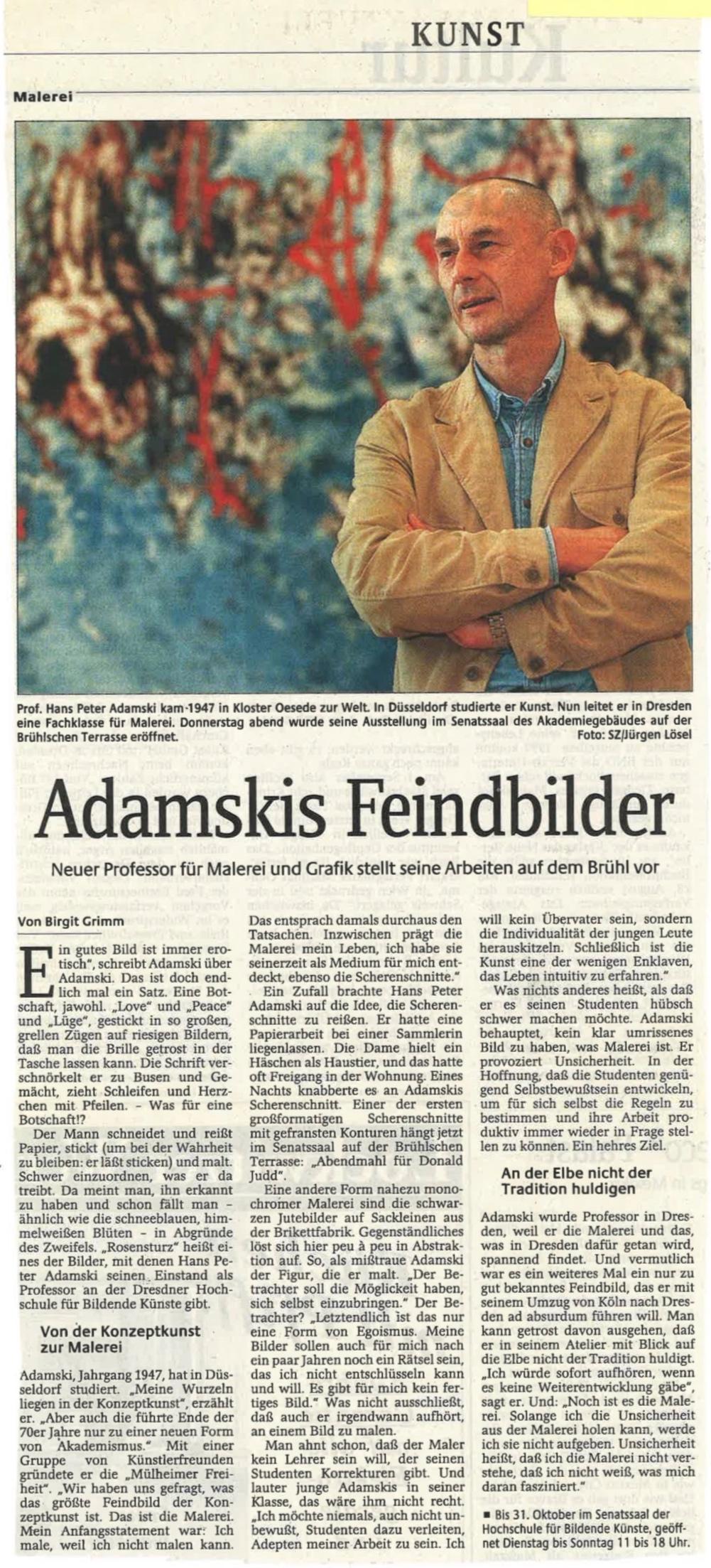 Sächsische Zeitung  1998
