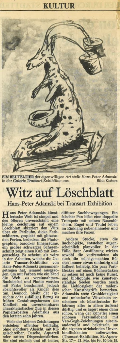 Kölner Stadtanzeiger  1991