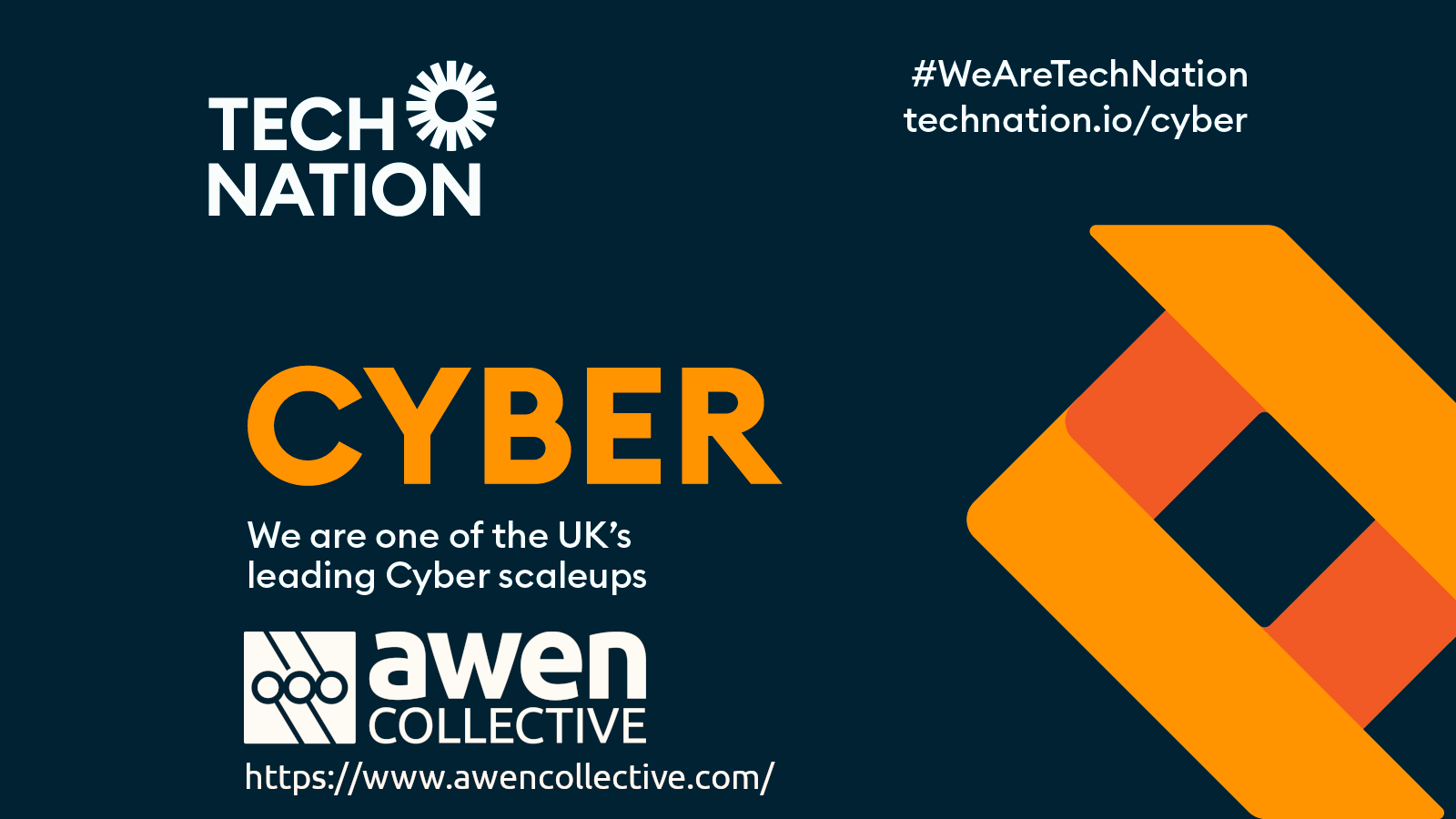 Follow the news about the programme on Twitter through #TechNationCyber