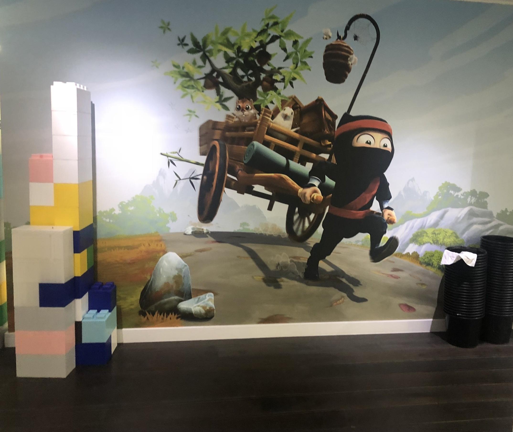 Gaming wall art