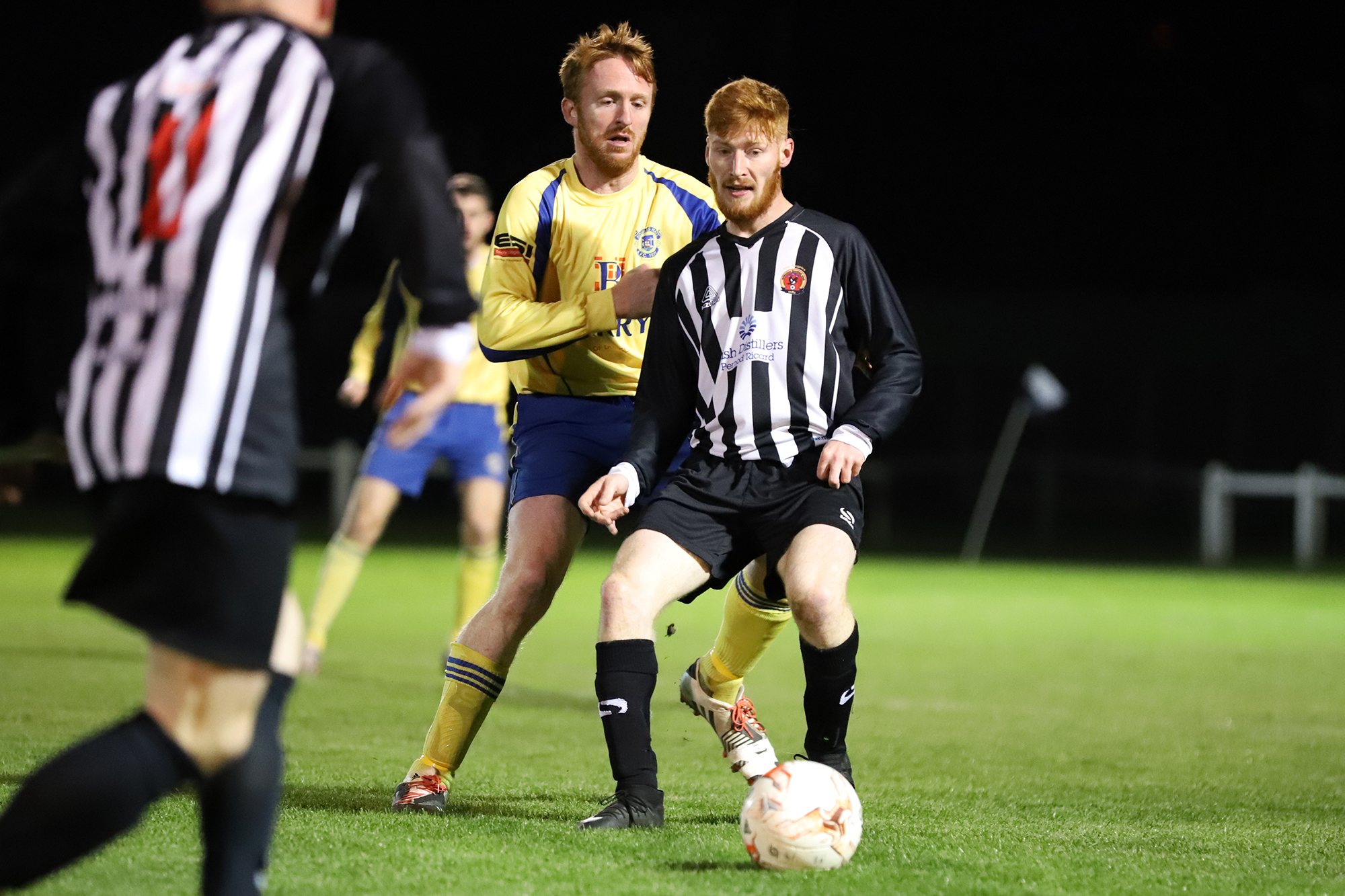 Midleton in action on the FAI Intermediate Cup against Douglas Hall back in  October .