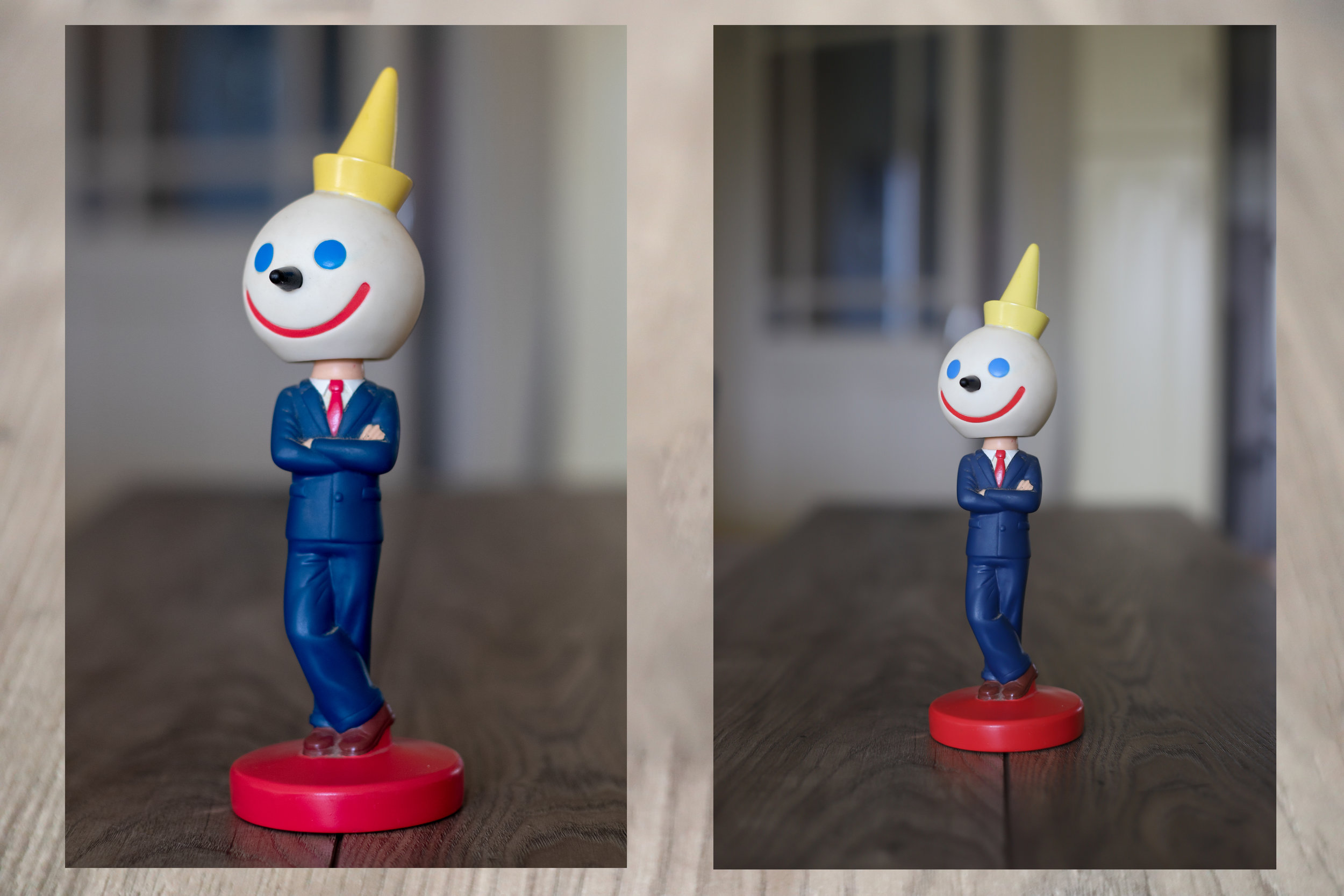 On the left, mounted on an APS-C camera (80D), and on the right, on a full frame (6D Mark II)