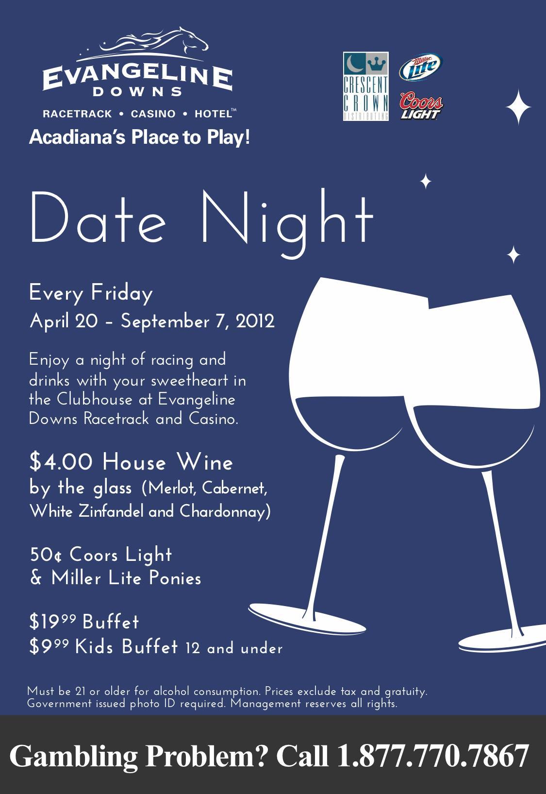Date Night at Evangeline Downs