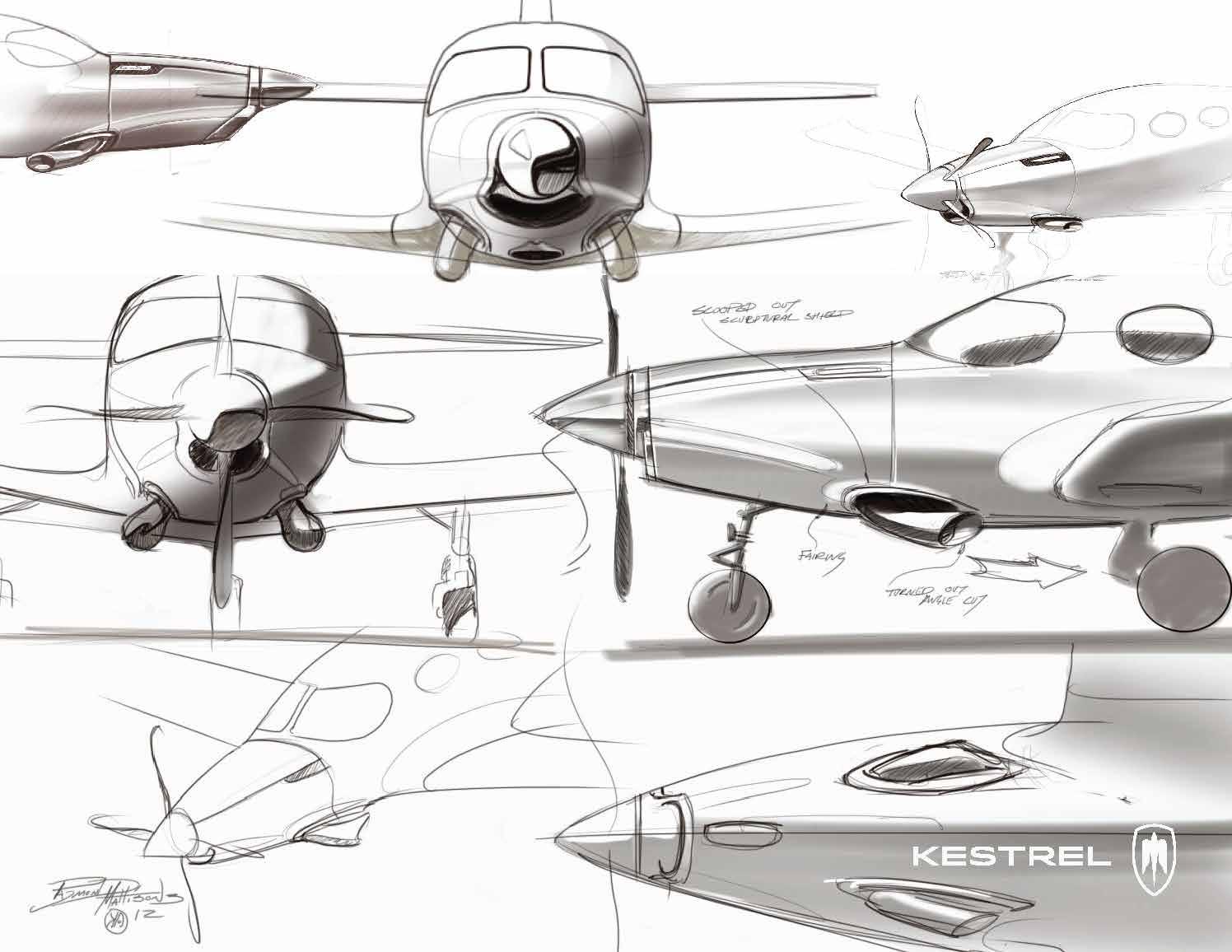 Kestrel K350 nose styling