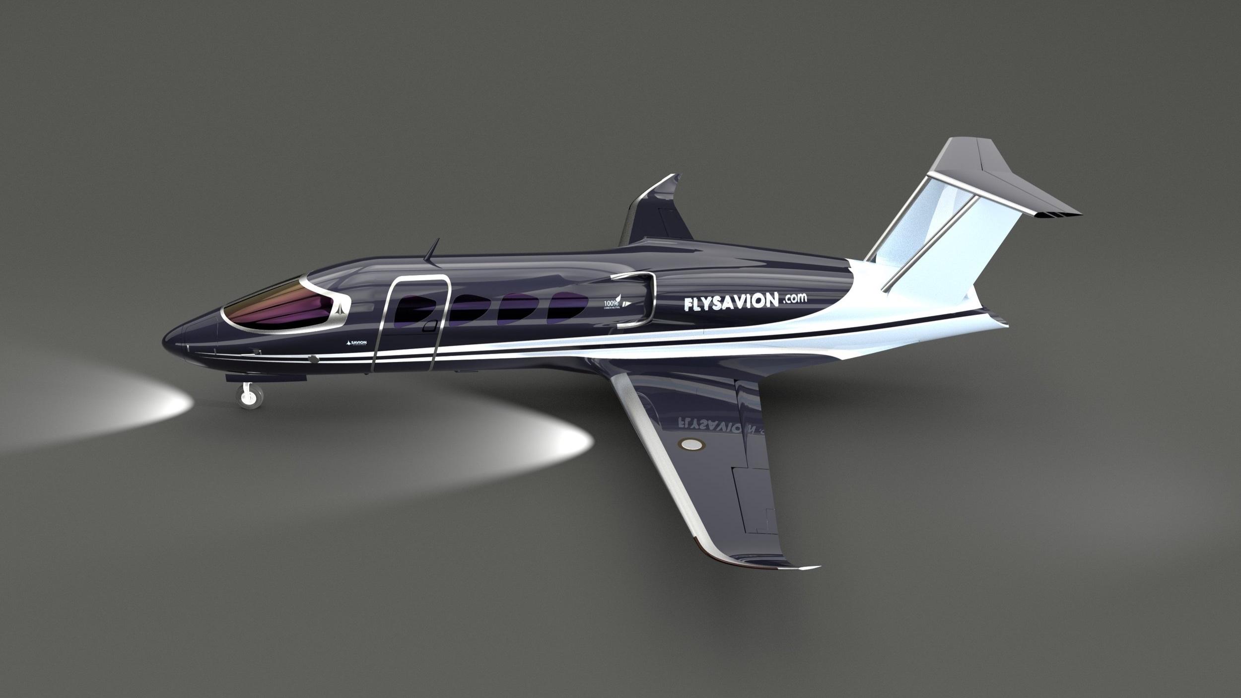 Savion Aerospace LNG Jet concept