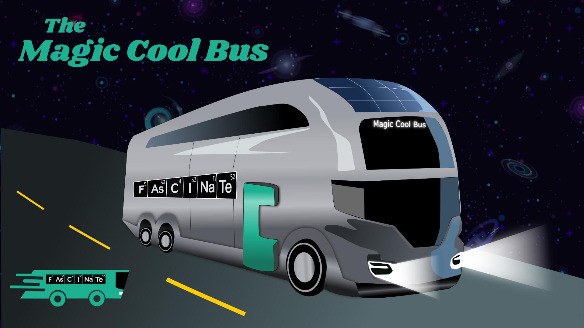 The Magic Cool Bus - A 501 (c)(3) non-profit project that brings a mobile museum with culturally responsive STEM curriculum to students in NYC.