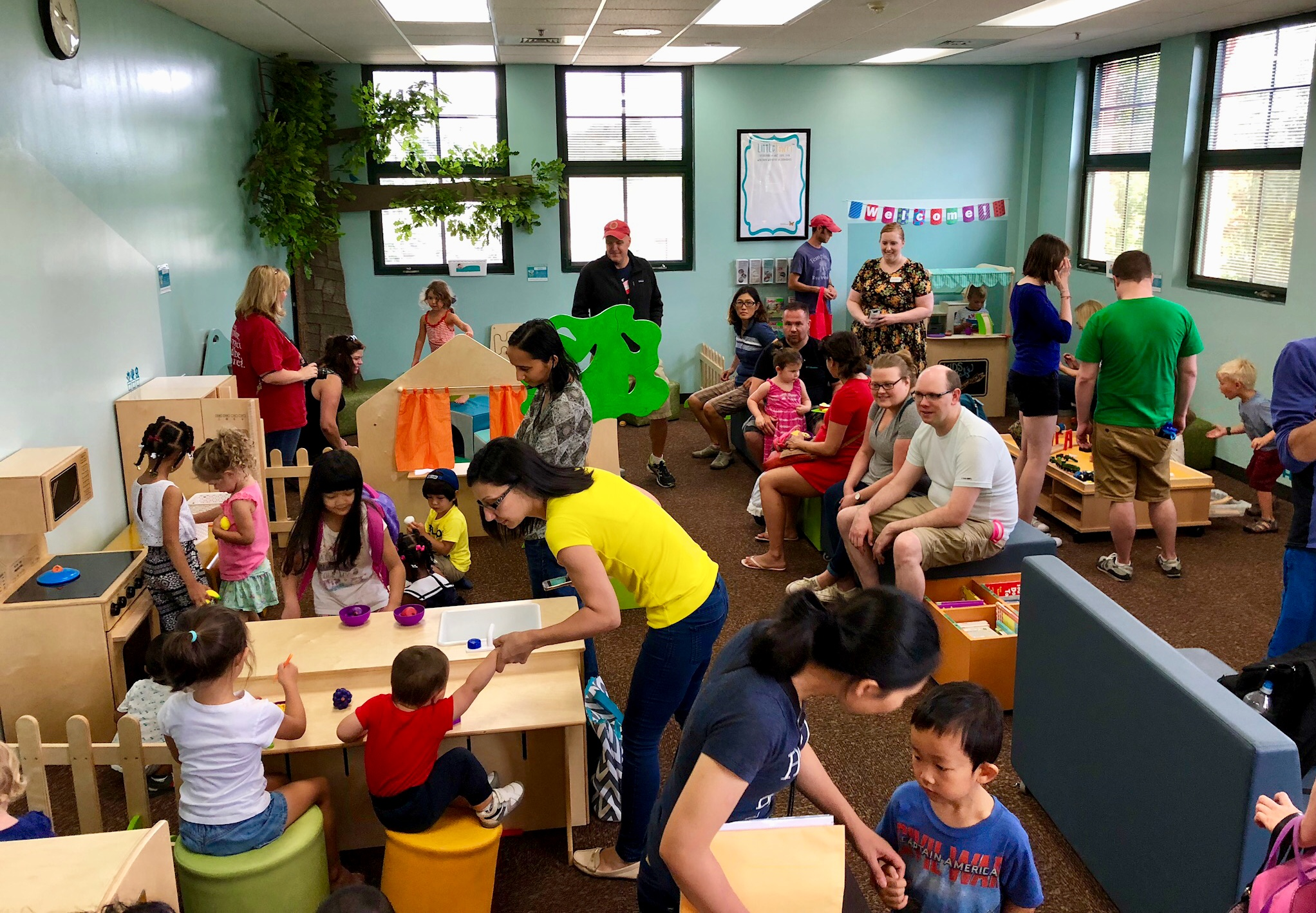 LittleTown at the Indian Prairie Public Library