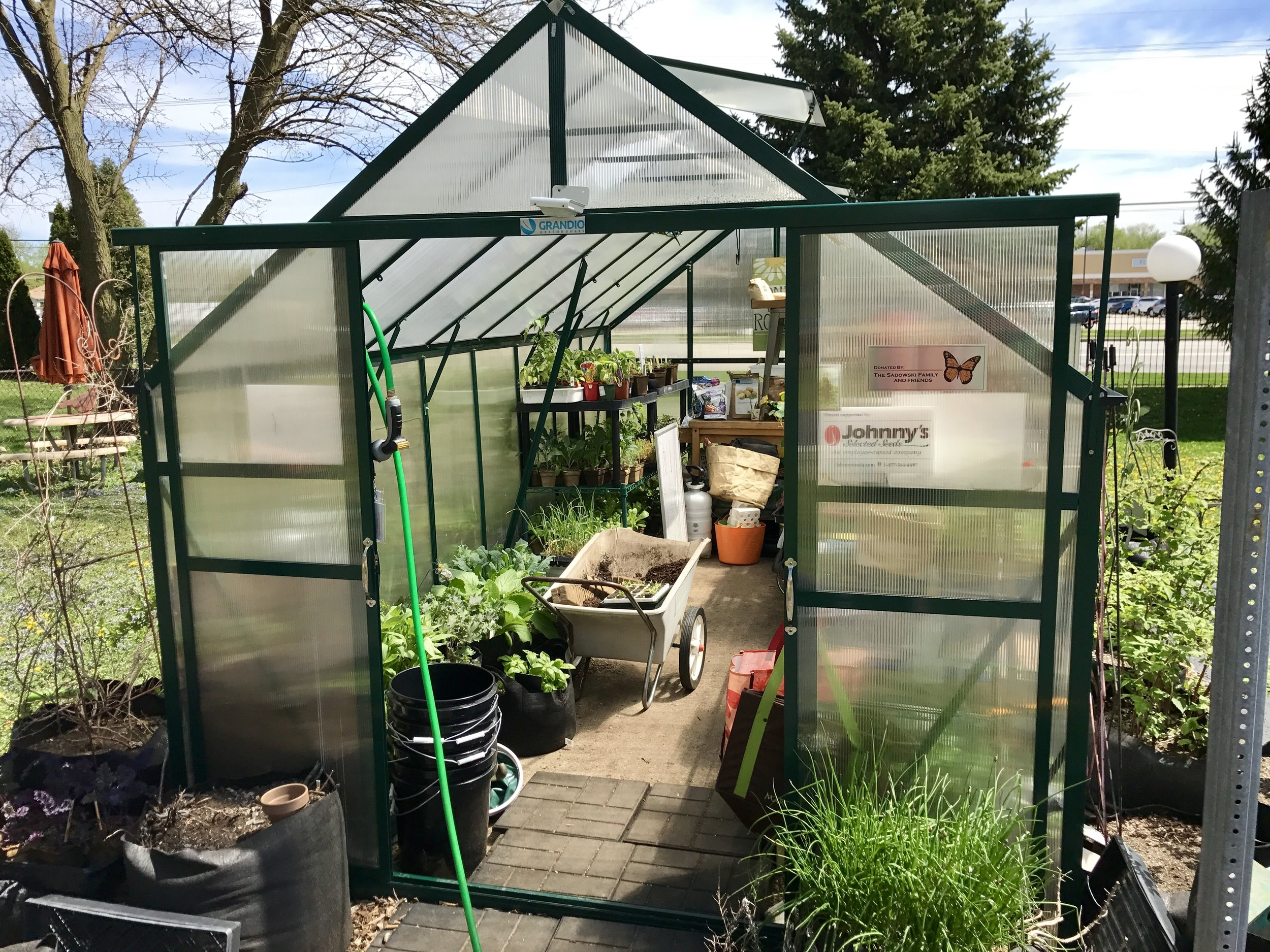 Sunny Patch Project Greenhouse