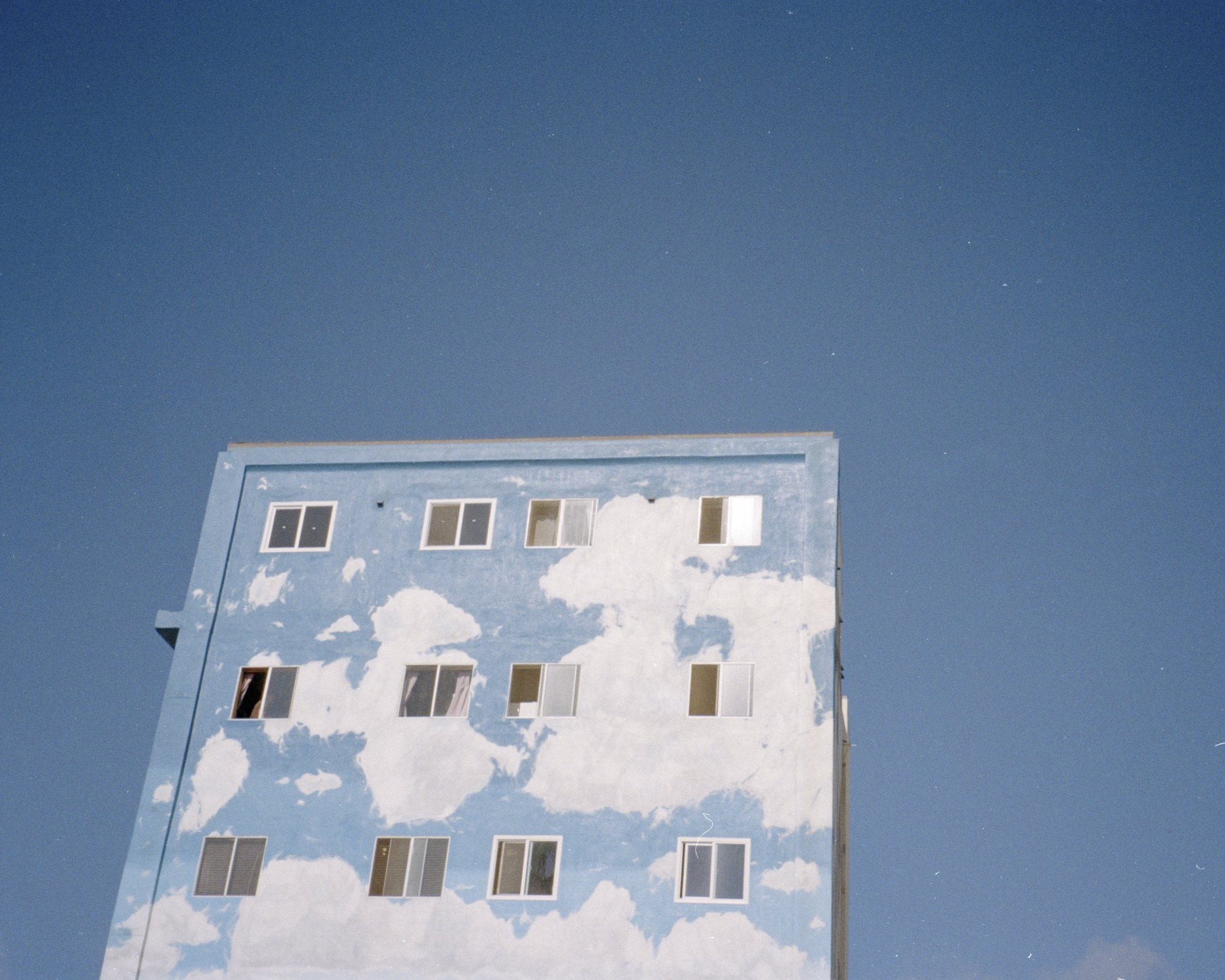 Untitled (Cloud Building) - © Anna Brody