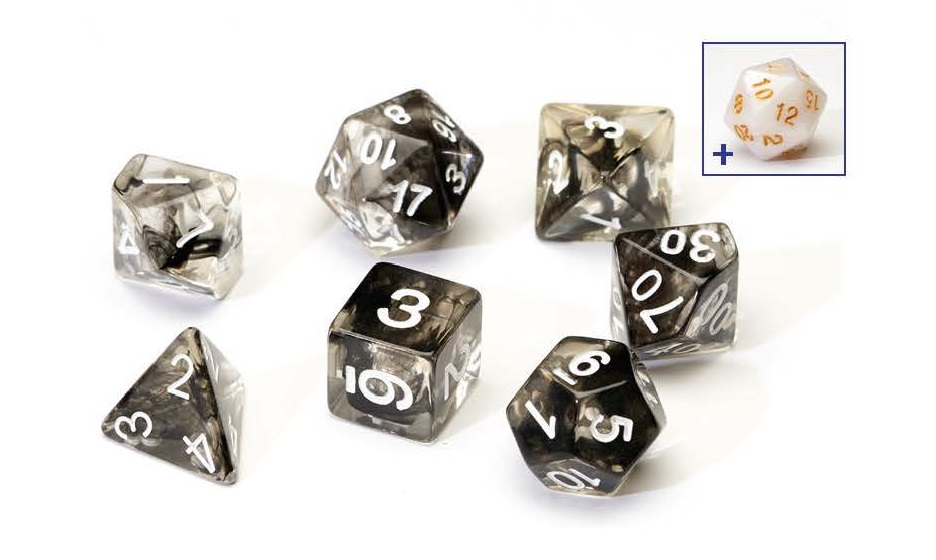 Dice Set - Black Cloud OUT OF STOCK