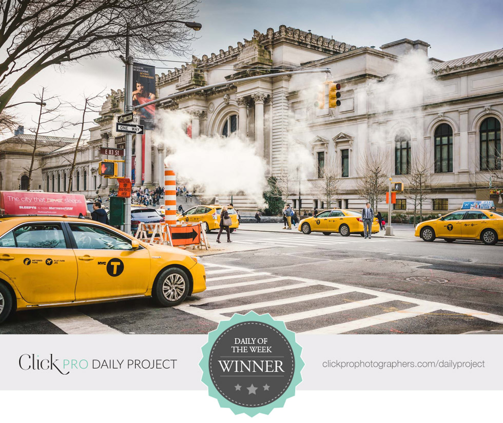 "Click Pro Daily Project ""Daily of the Week Winner""February 24, 2018 - ""Taxi, Please!"""