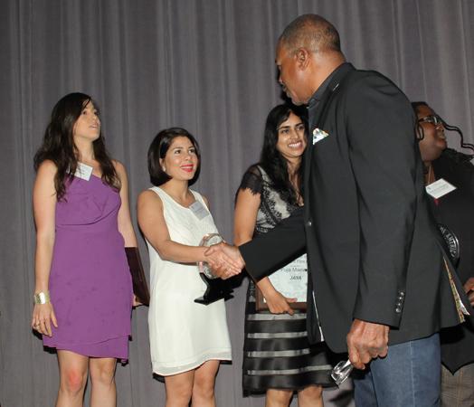 DGA awards . Tara Atashgah & director Carl Weathers