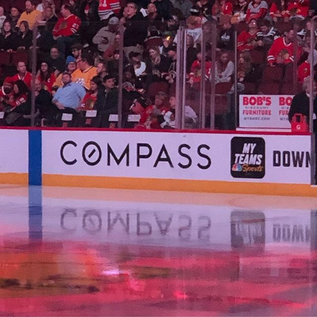 Let's Go Hawks!! #compassrealestate #blackhawks #roquansmith #compasschicago #thehudsonparkergroup