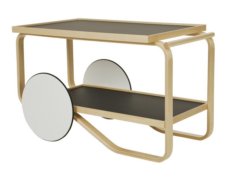 TEA TROLLEY 900  BY ALVAR AALTO