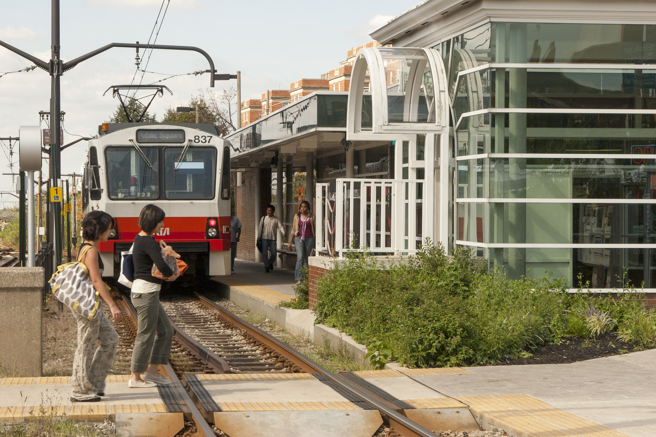 Public investments in infrastructure, such as new rapid transit stops, have paralleled the initiative's work.