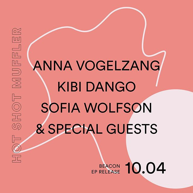 "TONIGHT! @annavzang will be releasing her new EP, ""Beacon"" at Hot Shot Muffler — with support from @kibidangomusic, @sofiawolfson & special guests! FREE with RSVP!"