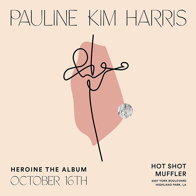 Grammy-nominated violinist, @paulinekimharris, of the eclectic avant-punk duo, String Noise (@stringnoise), will be visiting Hot Shot Muffler on Oct 16th to play music from her upcoming album, Heroine. The album is a reimagining of Bach's Chaccone and Ockeghem's Deo Gratias for Violin and Electronics.