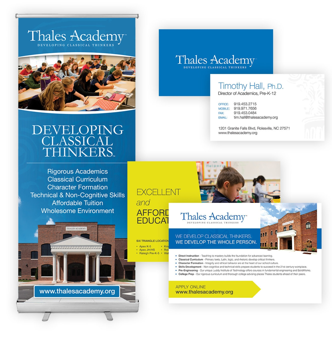 Cohesive Print Collateral -