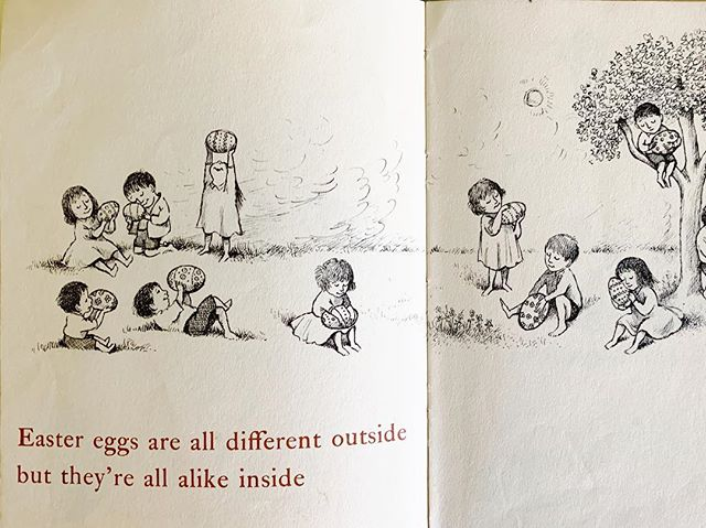 My #easterwish is that everyone would see we are all beautiful #eastereggs. #stophating #lifeisshort #openhouseforbutterflies #mauricesendak