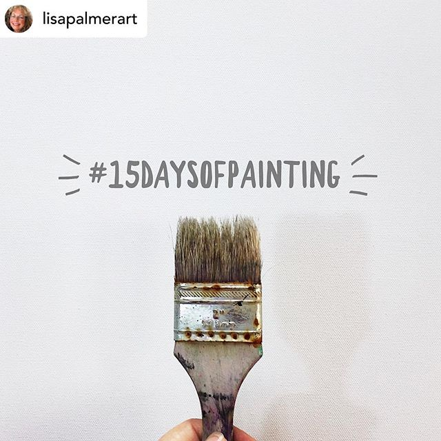 """Posted @withrepost • @lisapalmerart 🎨MARK YOUR CALENDARS🎨 We start 2 weeks from today!  MAY 17. ☀️WE ARE DOING IT AGAIN☀️ Can you believe it??? EVERYONE IS INVITED TO PLAY ALONG! Yes, that means YOU🤩😎💥 ARE YOU GOING TO PLAY WITH US?? Consider it a gift to yourself😍😉😁 It's a GAME, not a """"challenge"""" — read all about it on my blog (link in profile). Join our worldwide community of artists who can't wait to jump in!! I'm adding some optional spice to the game:  daily prompts!  They may be a little thought- and emotion-provoking so stay tuned🥰🧐😬 Only if you want to use them, of course, and totally up to your interpretation 😆  INTRODUCE YOURSELF IN THE COMMENTS BELOW!!! Tag your friends!  Join us!! The more the merrier!!! Double tap if you're excited!!!! And here are the rules of the game.….. THE SIMPLE RULES 1. Starting May 17, paint on the SAME PIECE every day, something, anything, for seconds or for hours, just do something to change your piece. 2. Post a photo of your piece every day on Instagram, using the hashtag #15daysofpainting 3. Follow me on Instagram@lisapalmerart, for updates and more tips for success! 4. No comparingour efforts to anyone else --this is most important-- everyone is on a different path and I hope we'll genuinely celebrate ourselves and others. And no self-deprecating comments on your own work, because that's no fun! 5. Because """"life"""" happens, there are up to2 days of graceduring the 15 days. 6. Search the hashtag #15daysofpainting every day to like/comment/encourage all the other players, and revel in the diversity of art that unfolds over the 15 days. You're gonna make some new art friends!  It's quite amazing!!! . . . . . . #15daysofpainting #thrive #selflove #lisapalmerart #studioscenes #nodoubts #accountabilitypartners #painteveryday #artflowsessions #practiceeveryday #artcommunity #womanartist #calledtobecreative #contemporaryfineart #abstractartist #californiaartist #doitfortheprocess  #interiordesigners #paintpractice #artprocess #artin"""