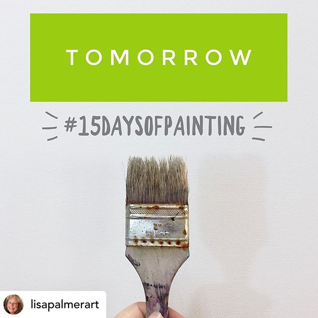 """Posted @withrepost • @lisapalmerart 🎨Come here tomorrow for the first prompt🎨 INTRODUCE YOURSELF IN THE COMMENTS BELOW!!! Tag your friends!  Join us!! The more the merrier!!! Double tap if you're excited!!!! And here are the rules of the game.….. THE SIMPLE RULES 1. Starting May 17, paint on the SAME PIECE every day, something, anything, for seconds or for hours, just do something to change your piece. 2. Post a photo of your piece every day on Instagram, using the hashtag #15daysofpainting 3. Follow me on Instagram@lisapalmerart, for daily optional prompts, updates and more tips for success! 4. No comparingour efforts to anyone else --this is most important-- everyone is on a different path and I hope we'll genuinely celebrate ourselves and others. And no self-deprecating comments on your own work, because that's no fun! 5. Because """"life"""" happens, there are up to2 days of graceduring the 15 days. 6. Search the hashtag #15daysofpainting every day to like/comment/encourage all the other players, and revel in the diversity of art that unfolds over the 15 days. You're gonna make some new art friends!  It's quite amazing!!! . . . . . . #thrive #selflove #lisapalmerart #studioscenes #nodoubts #accountabilitypartners #painteveryday #artflowsessions #practiceeveryday #artcommunity #womanartist #calledtobecreative #contemporaryfineart #abstractartist #californiaartist #doitfortheprocess  #interiordesigners #paintpractice #artprocess #artinspiration #paintinginprogress #artistsofinstagram #abstractpainting #paintingoftheday #thepursuitofjoy  #painterslife #artforall #playwithpaint"""