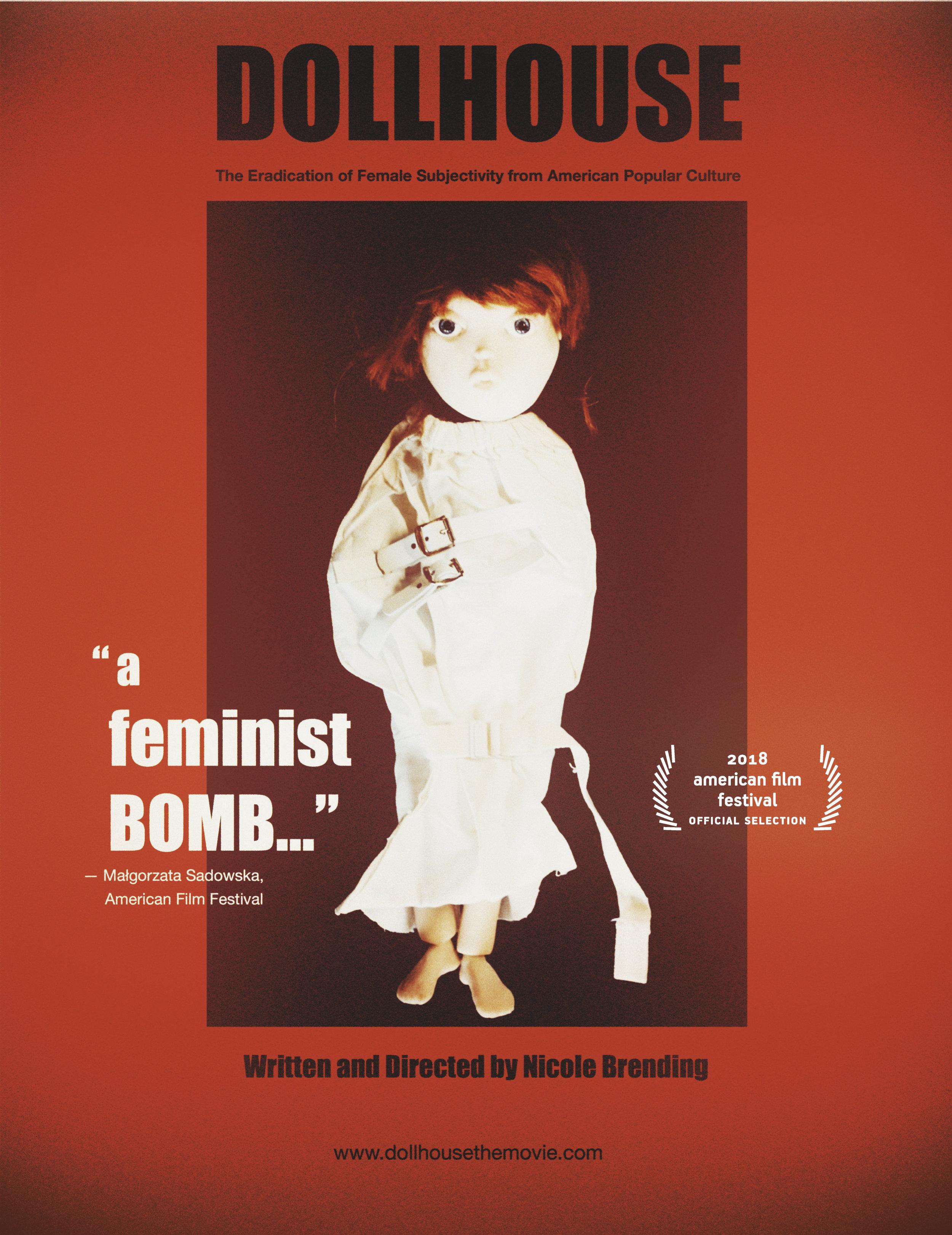 Dollhouse Horror Poster White .jpg
