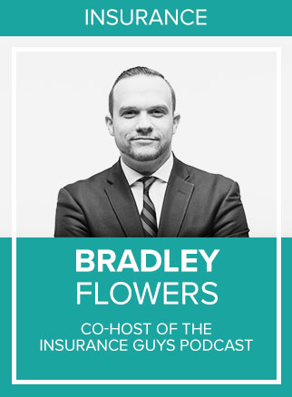 "- Bradley is a nationally recognized Insurance Agent and Marketing Enthusiast. He runs the day to day operations at Saraland Insurance in Saraland, Alabama, a business he built on the back of social media and personal branding. Although he is a part of the insurance industry, Bradley considers himself a marketer first, generating 98% of his new business through Facebook and Instagram in 2017. In 2016 he was named the #1 Insurance Personality on Snapchat. Bradley is the co-host of the ""Insurance Guys Podcast"" a marketing podcast that can be found on iTunes, Spotify, Soundcloud and iHeart Radio.Socials: IG"