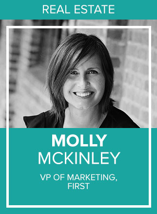- Molly McKinley is an expert at connecting the dots. She is a senior public relations and integrated marketing strategist with over 19 years of experience launching new products and brands. Her passion lies in finding hidden connections between people, experiences and finding the shared value. An entrepreneur at heart and founder of several small businesses, she's also worked with Adwerx, Adobe, IBM and is currently the VP of marketing at First.io. Her traditional PR agency background has evolved into all things digital, from SEO and link building, to influencer and content marketing, as she weaves relevant stories that connect and create brand advocates.