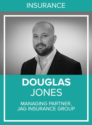 - Doug is a founder and the Managing Partner at JAG Insurance Group based in Miami FL. Doug carried over his passion, discipline and determination as a former Division 1 college football player into the insurance business. These traits have helped Doug and his partners keep JAG ahead of the curve by using the fundamental characteristics of an athlete's mindset to evolve in an industry that promotes complacency. Along with his partners, Luis Gazitua and Fernie Alvarez, JAG, founded in 2013, has experienced unprecedented growth in the middle market space without the assistance of any mergers or acquisitions. More importantly, JAG has changed the ancient distribution of insurance by modernizing it with a more humanistic approach. JAG is more than a retail insurance agency it's a lifestyle.Socials: IG