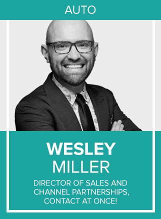 "- With a passion for all things automotive, Wesley enjoys empowering dealers across the country by consulting with them on Google Analytics, their branding on social media, reaching consumers through ""conversational commerce"" (messaging/chat) and spending their digital dollars wisely on paid/organic search.Wesley is putting his 10+ years experience in digital marketing to work for LivePerson's automotive division, Contact At Once! (CAO!). As the Director of Sales and Channel Partnerships, he lives in Alpharetta, GA, and is responsible for a team of Senior Account Executives in the Central Region. Recently, he spearheaded the Channel Partnership Program, working with agencies and independent consultants to promote the CAO! brand and product."
