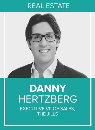 "- Danny Hertzberg, a leading member of The Jills Group, has received numerous awards and accolades, including being named to the ""30 Under 30"" list by Forbes, and most recently the ""40 Under 40"" list by the South Florida Business Journal. Danny has reached a remarkable level of sales production.He constantly employs the latest digital marketing strategies and social media innovations to market properties on an international level. Danny has presented many of these cutting-edge marketing strategies that he has developed at speaking engagements, seminars and conferences nationwide. Additionally, Danny is regularly featured in both national and local media outlets, discussing real estate trends in the South Florida luxury market. He has been quoted in The Wall Street Journal, Curbed, Forbes, Haute Living, Mansion Global, Miami Magazine, Ocean Drive magazine, Robb Report, Daily Business Review, South Florida Business Journal, The Real Deal, the Miami Herald, the Sun Sentinel, among others. He has also appeared on CNBC's ""Secret Lives of the Super Rich,"" NBC's ""Open House,"" CBS's ""Living Large"" and CNBC's ""Power Lunch,"" among others.Socials: IG, TW, FB"